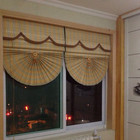 manual bamboo roman blind bamboo slat component for roll up curtain