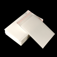 Biodegradable White Kraft Paper Bubble Pack Envelope Express Mailing Bag