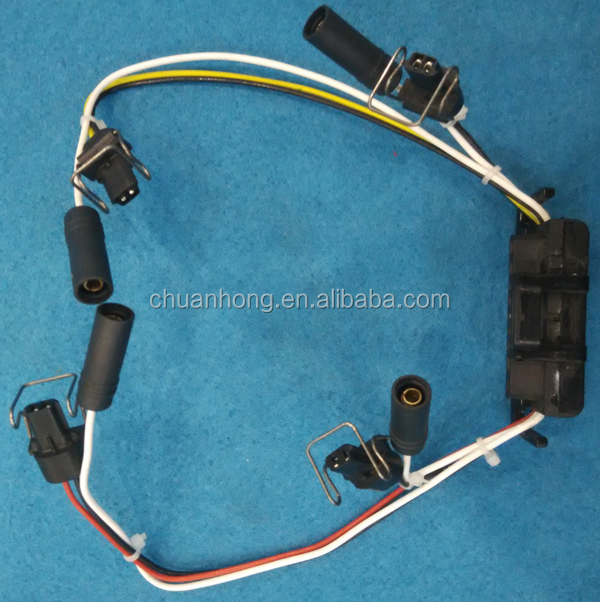 diesel glow plug wiring harness coil ignition injector wire delphi fits  99-03 ford f