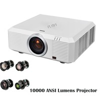 2017 New 10000 Lumens 3LCD Large Venue Projector WUXGA 3D Mapping Edge blending Outdoor Projector