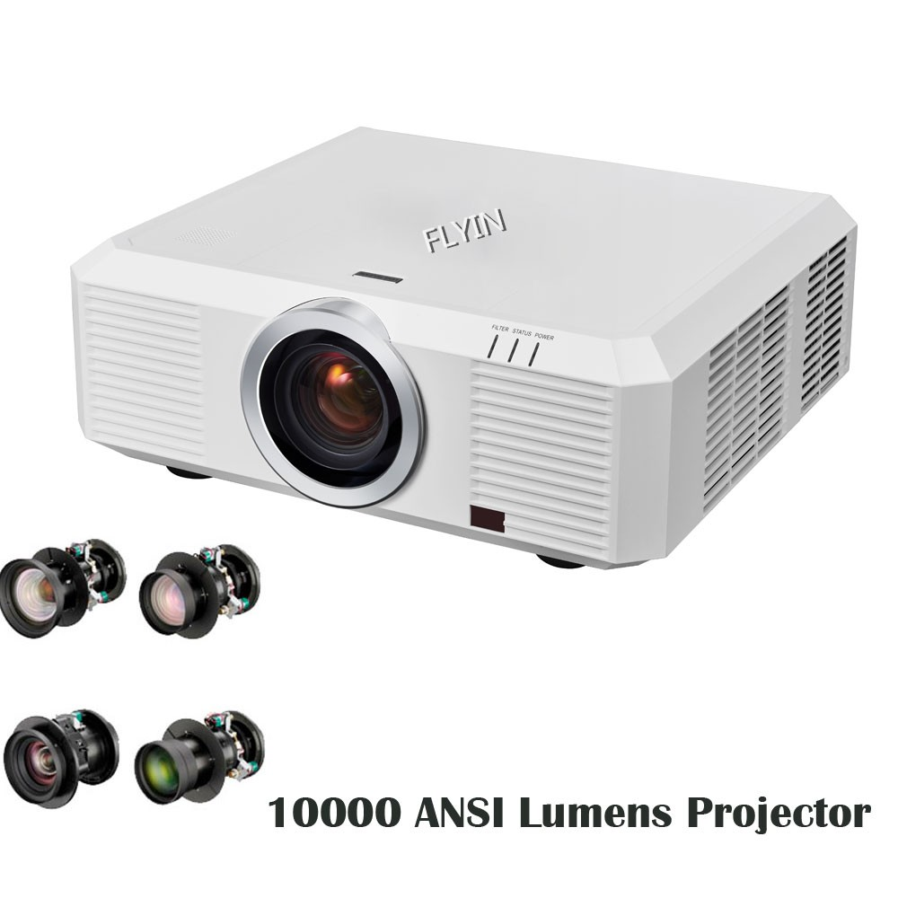 2017 New 3LCD Large Venue WUXGA 3D Mapping 10000 Lumens Outdoor hologram <strong>projector</strong>