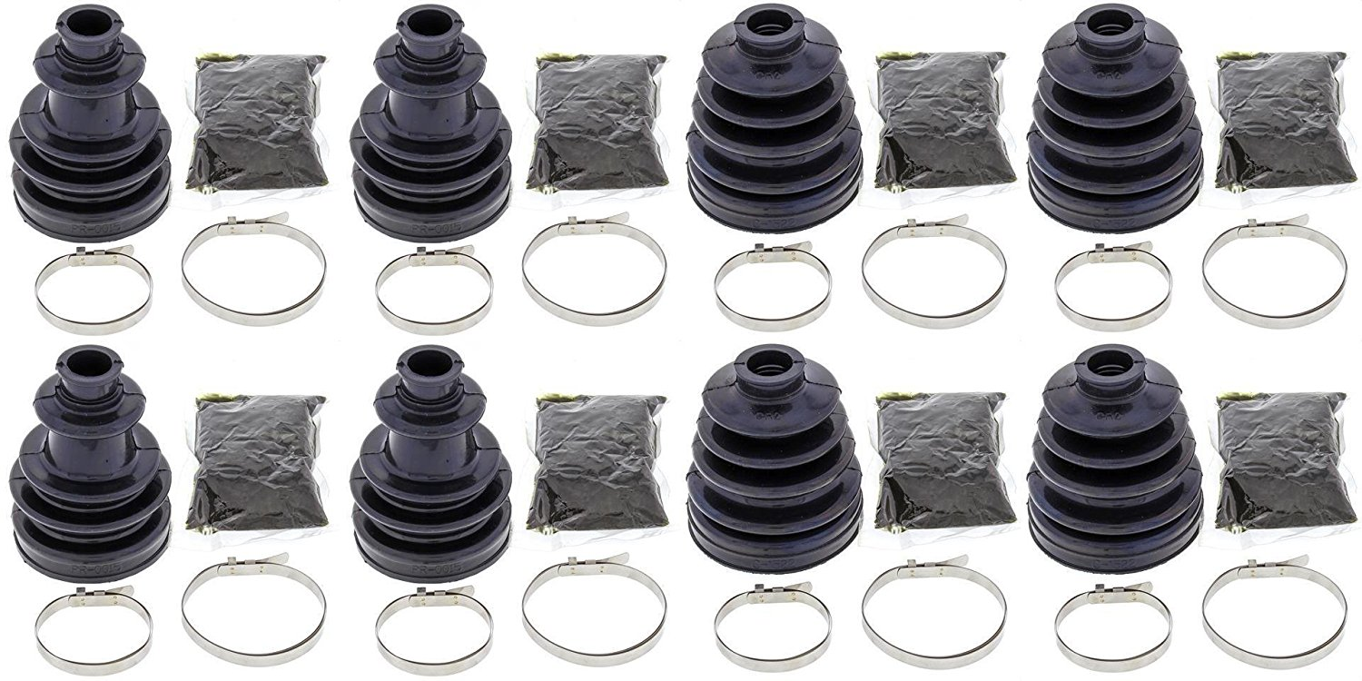 Complete Front Inner or Outer CV Boot Repair Kit for Honda Pioneer 700-4 SXS700M4 2014-2015 All Balls