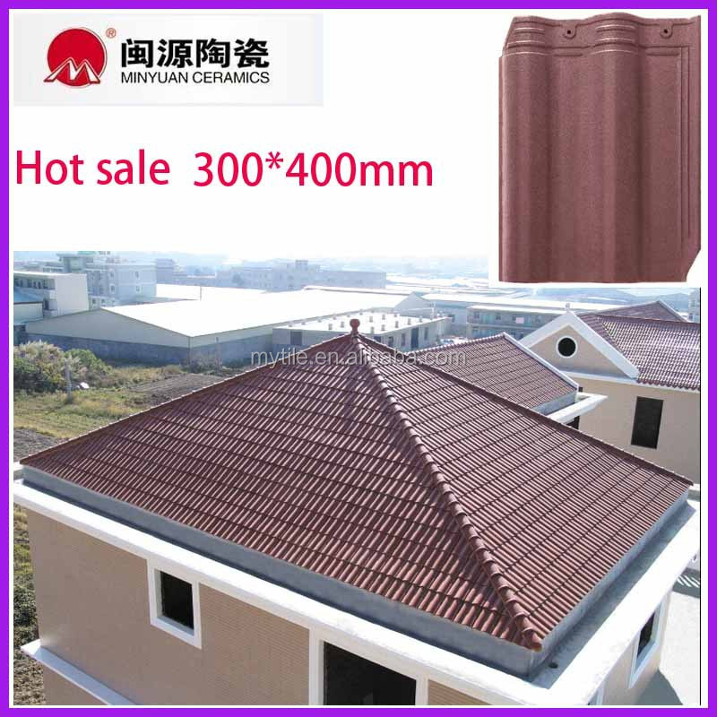 Global Glaze New Products Waterpoof Ceramic Clay Roof Tile For ...