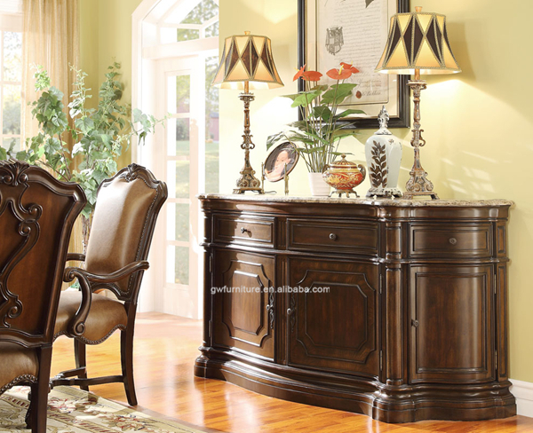 wholesale high end luxury set royal dining room furniture wa160