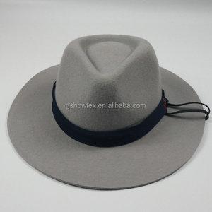 6956bcd34b8 Borsalino Fedora Hat 100%wool
