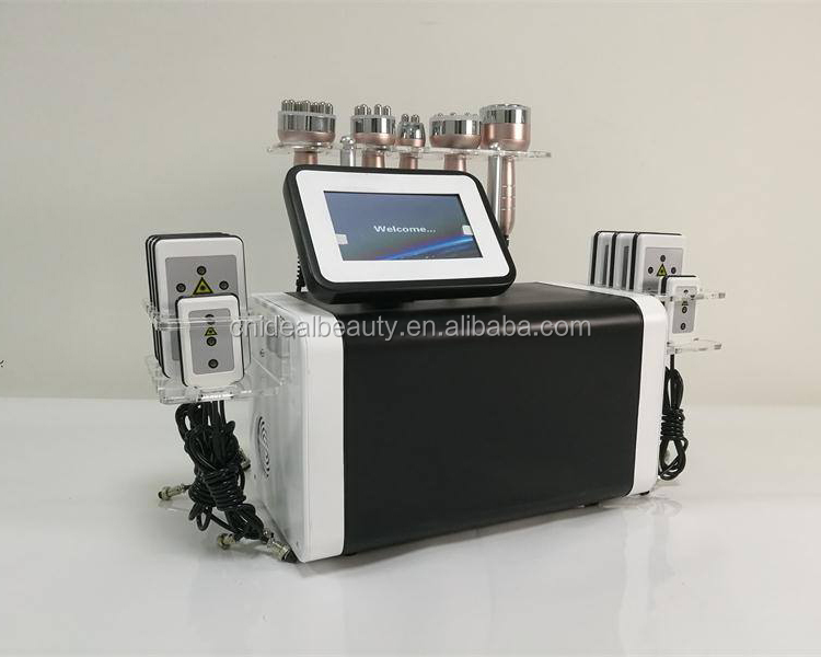 6 in 1 cavitation machine with lipo laser (S079)