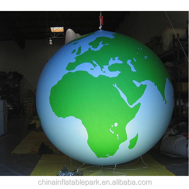 cheap inflatable sphere for world map/inflatable spheres