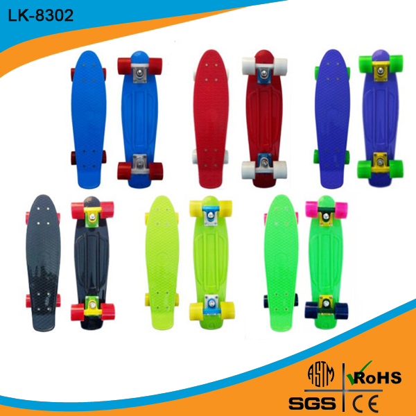 glider old school flowboard professional mini skateboard