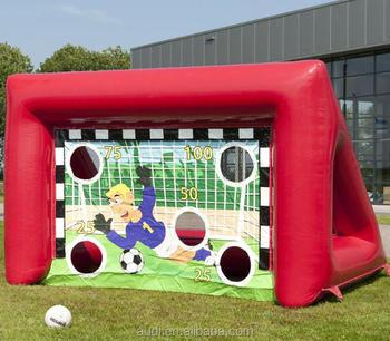 inflatable Soccer Goals/Football Shootout Race/Soccer Football Shoot Game