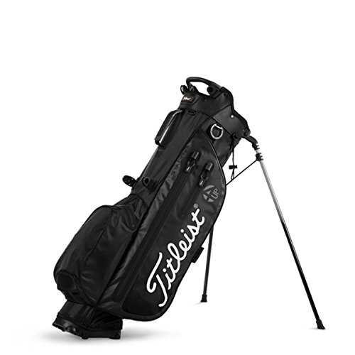 88f657caf8995 Get Quotations · Titleist Players 4UP StaDry Golf Bag - Black - TB8SX2-0