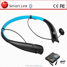 Neckband style music player retractable stereo bluetooth headset HV930 for driver