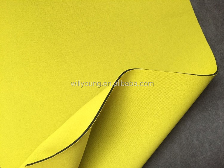 3mm Neoprene Fabric Two Sided Coated T Polyester Fabric