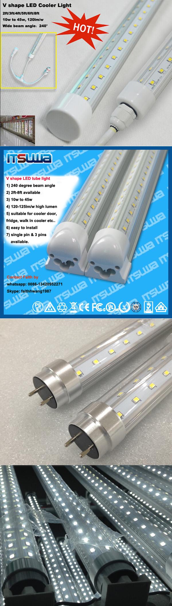 2ft T8 Grow Light Led Tube 10w For Flower Blooming Led Grow Light ...