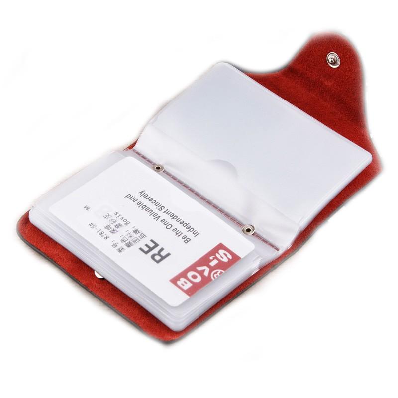 BOVIS Leather Business Card Holder Vintage Credit Card Holder Hasp Card  Organizer Bags Travel Card Wallet-- BIH003 PR20 - us41 2069c5c046d
