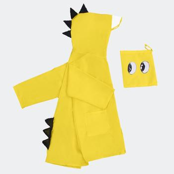 SPWE- 1311 One Piece Lightweight Dinosaur Waterproof Rain Suit Raincoat With Hooded