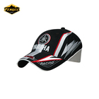 customized racing high quality embroidery logo cap