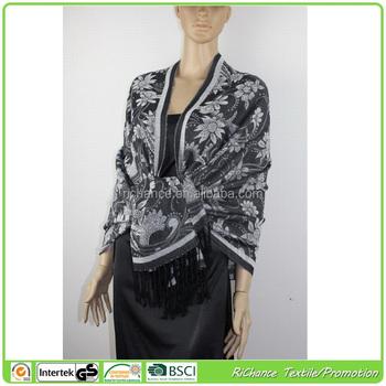 Acrylic Viscose Knitting Cape Shawls,Professional China Supplier ...