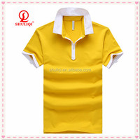 Polo Shirt with Fancy Stitching on Placket