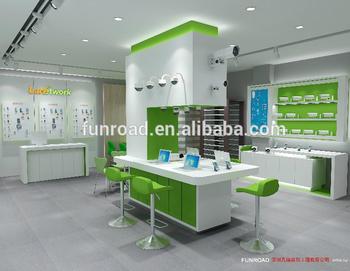 Bespoke Electronics Display Store Mobile Phone Shop Interior ...