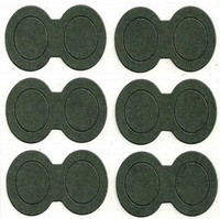 Battery Washer Fish Paper Barley Insulation Shim for 18650 26650 Lithium Battery