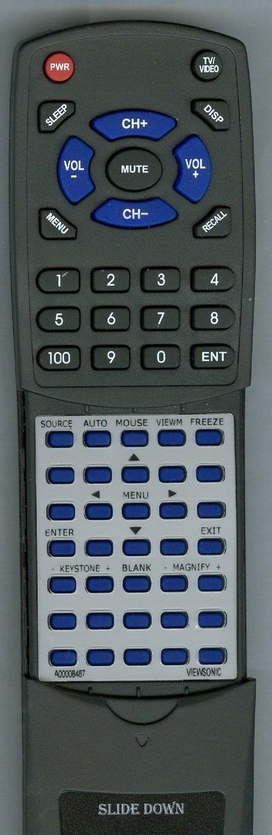 VIEWSONIC Replacement Remote Control for PJD6251 IR, PJD6211 IR, PJD6212, PJD6221 IR