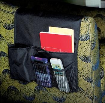 Sofa Armrest Caddy Arm Chair Remote Control Holder Organizer