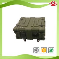 Tricases factory direct sale IP67 rack cases rugged plastic military tool case RU040