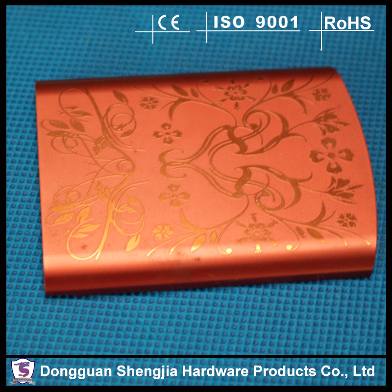 Silk-screen printed metal stamping protect phone cover stamping sheet works