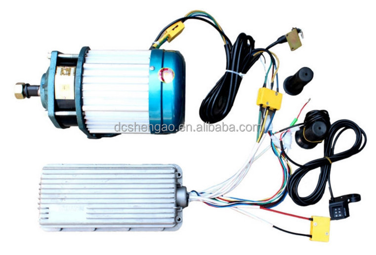5kw brushless dc motor electric car motor price pancake for Brushless dc motor cost