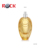 50ml Oval Engraving Pump Sprayer Glass gold luxury perfume bottle