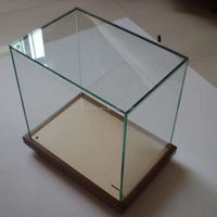 High quality most popular glass display showcase/living room glass showcase design