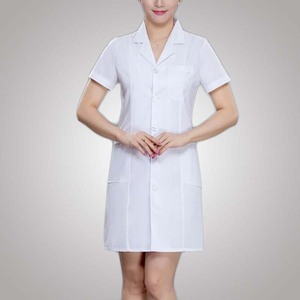 Latest Blouse Womens Clothes Western Style Nurse Uniform White Dress From Alibaba