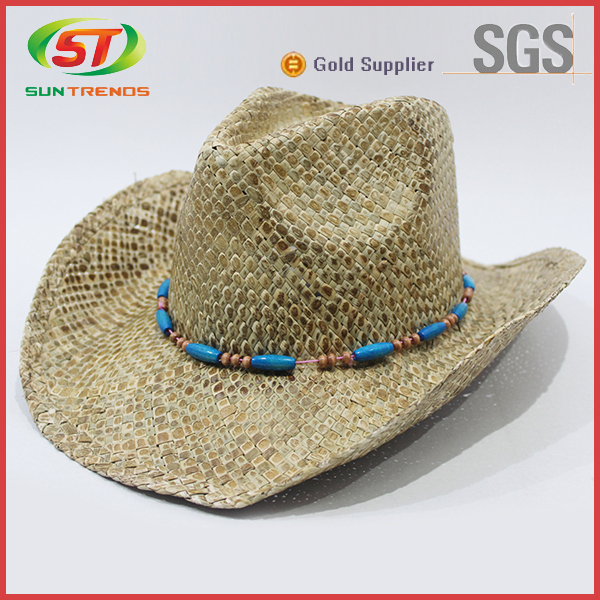 Custom Unique Wide Brim Paper Straw Hats Wholesale Sombrero