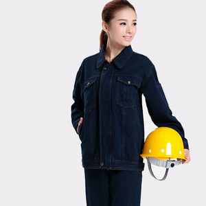 Staff uniform Wholesale Denim Jacket Engineer Uniform