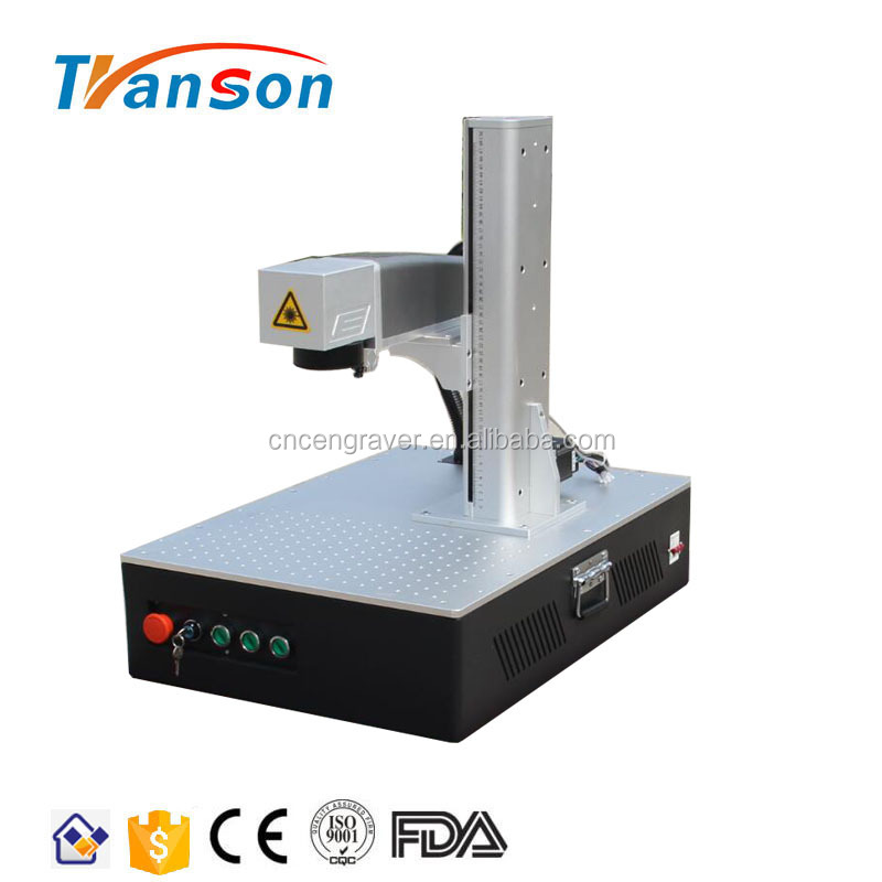 TSF C Mini 20W 30W Fiber Laser Marking Machine For Metal Copper Staness Steel