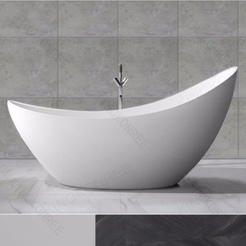 quality acrylic small deep round freestanding bathtub - buy