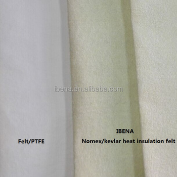 Moisture barrier and anti-heat layer (Nomex fabric)