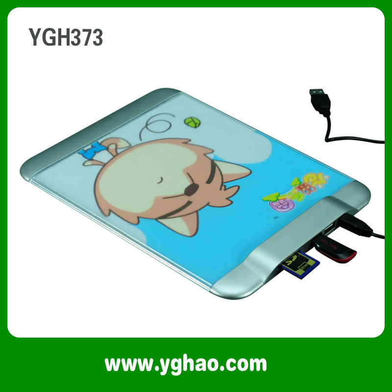 Multi function SD/TF USB Mouse pad