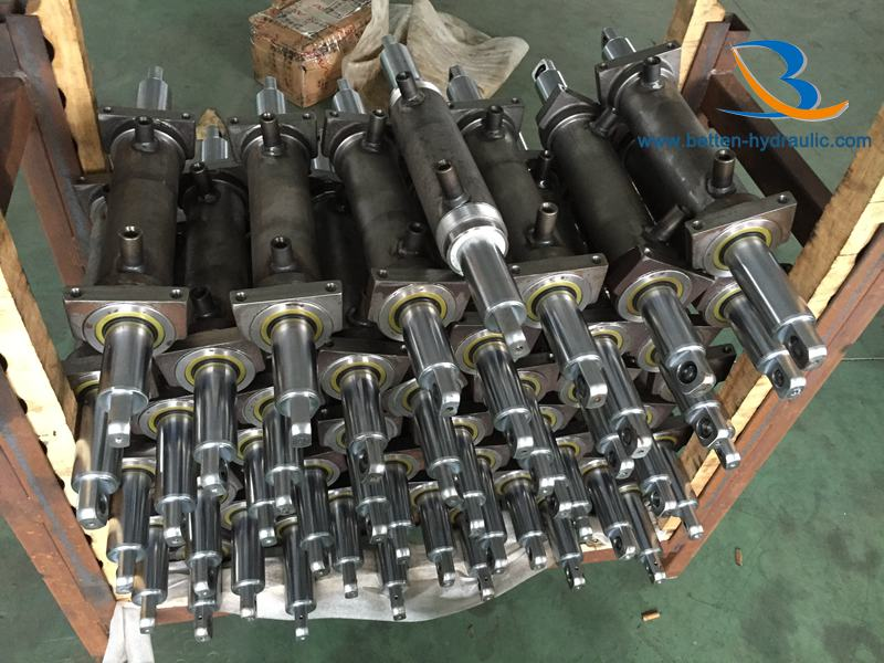 Double Rod End double acting Hydraulic Cylinder for Forklift