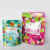 Top zipper plastic pet dog food packaging bag / stand up pet food pouch