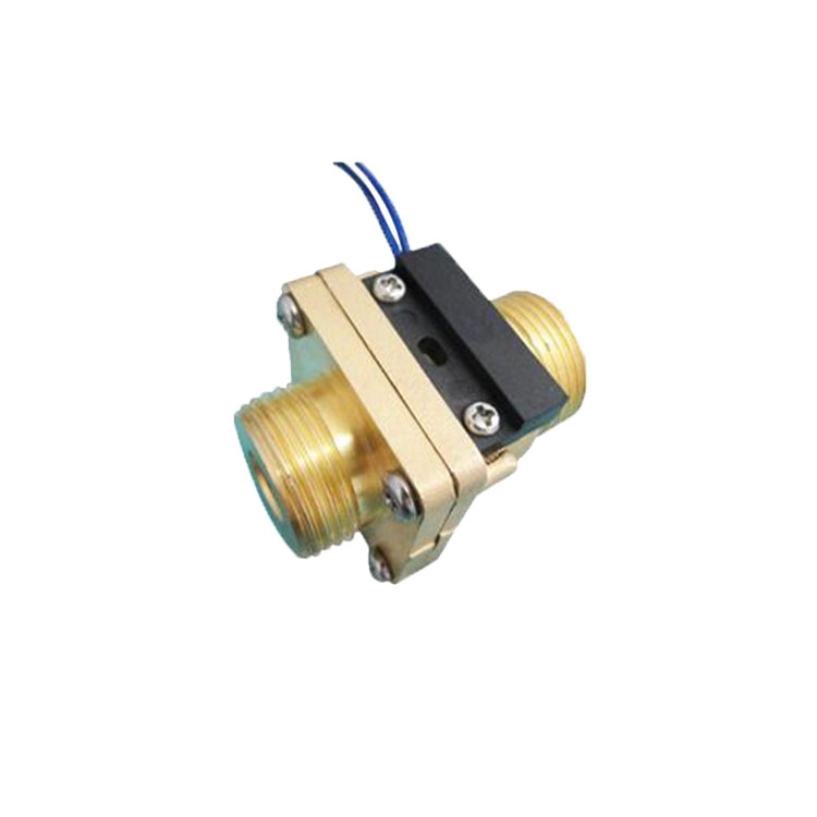 1~60l/m liquid water outer thread brass material flow switch for laser equipment