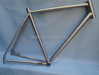 2014 New 700C cyclocross Titanium Road Bike Frame internal cable