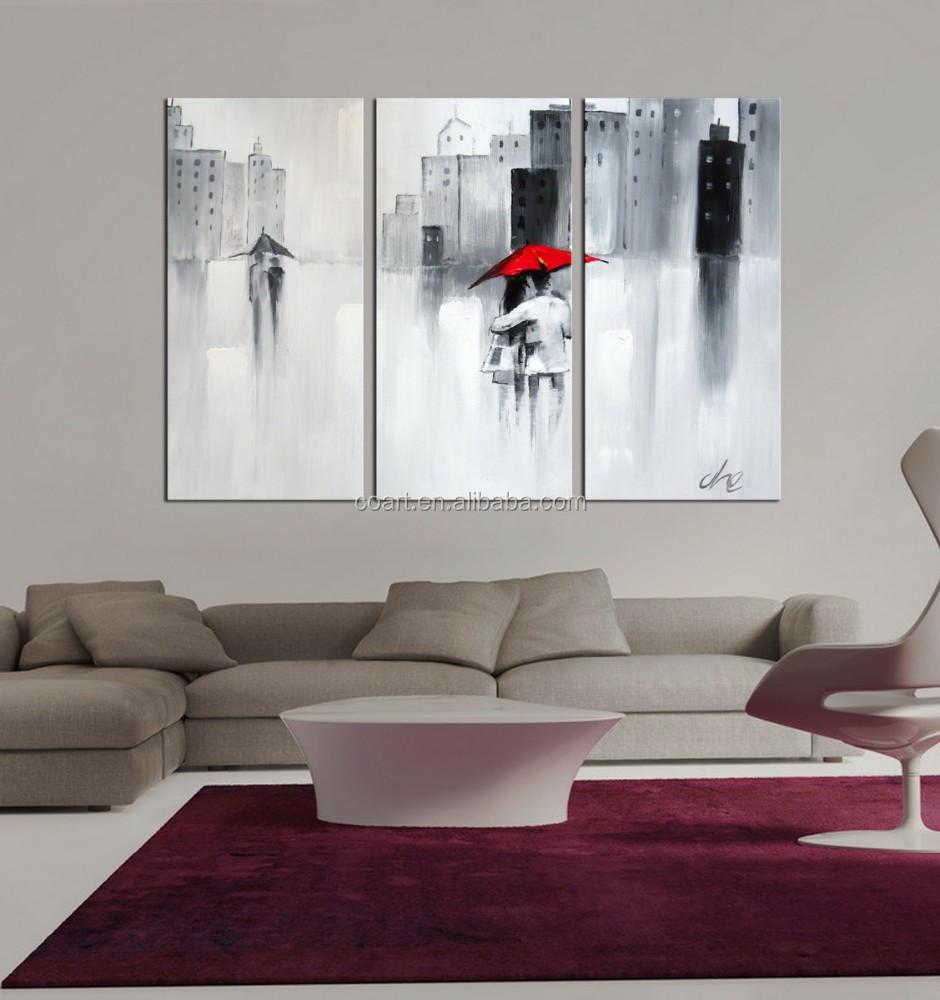 100 handbemalte menschen lgem lde moderne gem lde auf. Black Bedroom Furniture Sets. Home Design Ideas