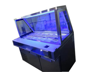 Commercial Meat/sause/salad Display refrigerator/Work Table