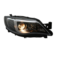 XV Impreza WRX 09-12 LED Head Light Tipo U com Lente Do <span class=keywords><strong>Projetor</strong></span> Do <span class=keywords><strong>Farol</strong></span>