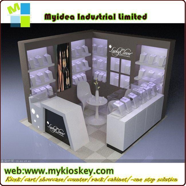 Hot Sale Jewelry Display Counter/jewellery Showroom Design Led ...