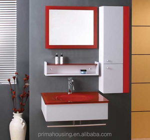 Prefab modular bathroom ,,bathroom cabinet with ceramic basin,whole sale bathroom accessory