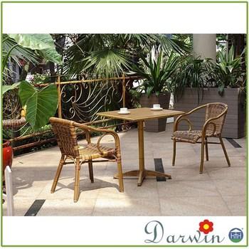 Jardín Zen Conjunto 4 Estaciones Muebles De Mimbre De Tapicería ...