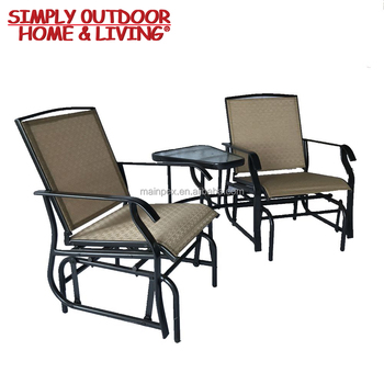 Miraculous Modern Outdoor Furniture Garden Furniture Import Double Rocking Chair With Glass Top Table Buy Modern Outdoor Furniture Garden Furniture Creativecarmelina Interior Chair Design Creativecarmelinacom
