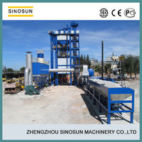 SAP160 used asphalt mixing plant,low price used bitumen plant
